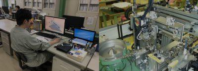 電気設計・機械設計者10名超の充実した装置開発・設計体制