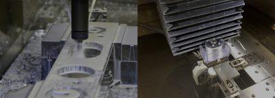 マシニング・旋盤・ワイヤーカット放電加工機を取りそろえ、機械加工品も内製化