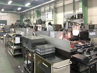 機械加工工場(自社工場)