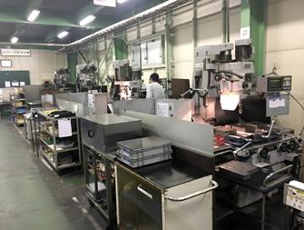 充実した社内機械加工設備