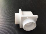 テフロン製エルボ形状配管部品