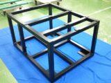 半導体装置の高精度架台フレーム(平面度0.1)