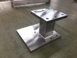 板金加工・機械加工の複合品ベーススタンド